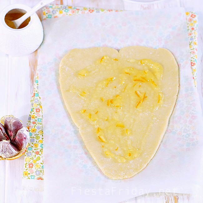 heart shaped galette