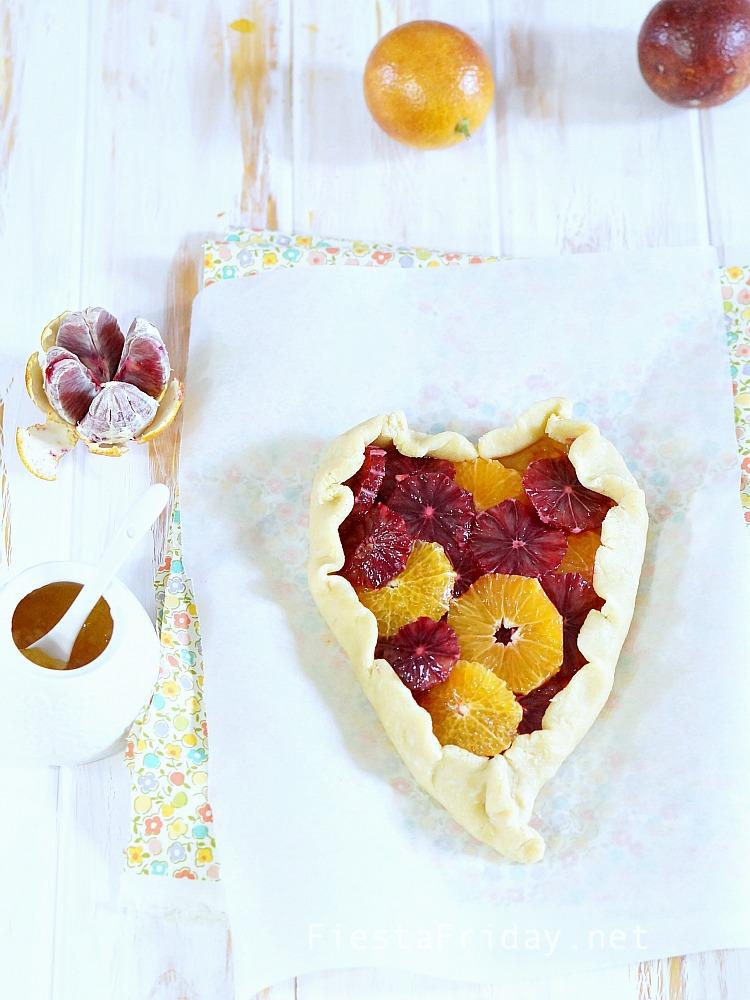 heart shaped galette | fiestafriday.net