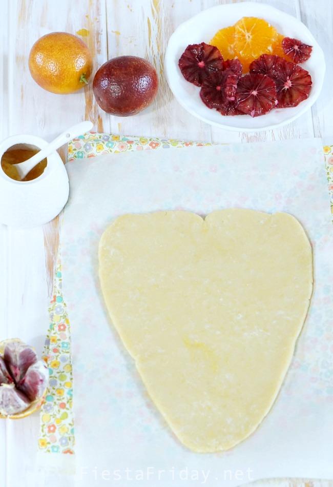 heart shaped tart | fiestafriday.net