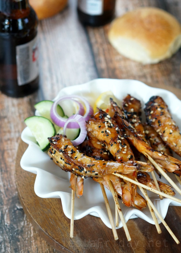 shrimp satay | fiestafriday.net