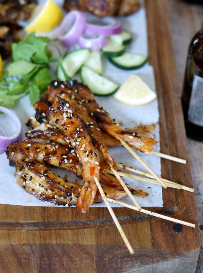 spicy shrimp satay | fiestafriday.net