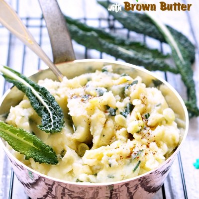 Colcannon with Brown Butter & Bacon