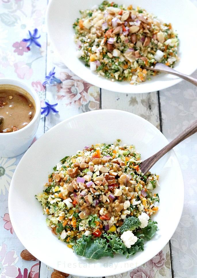detox diet salad | fiestafriday.net