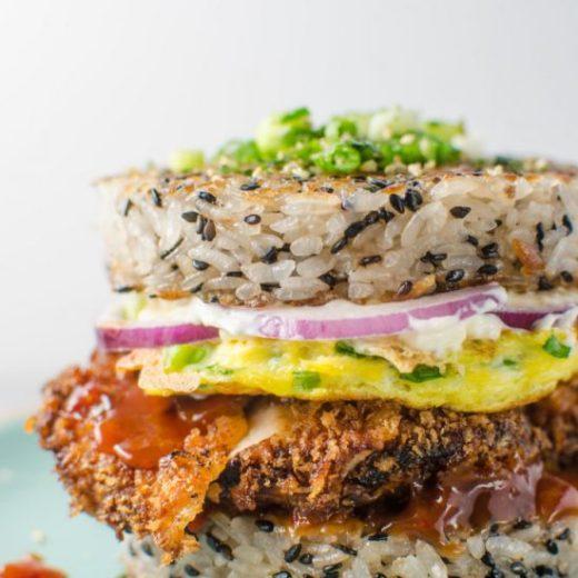 Chicken-Katsu-Sushi-Burger