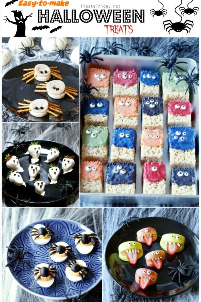 easy to make halloween treats