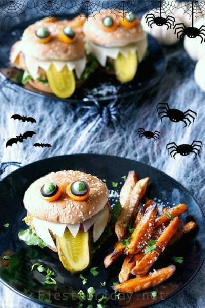 Monster Vegan Burgers