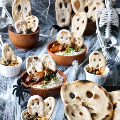 Halloween Naan