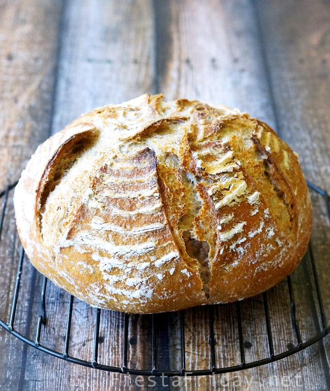 sourdough boule | FiestaFriday.net