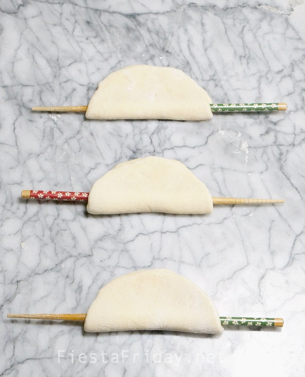 Chinese Steamed Buns | FiestaFriday.net