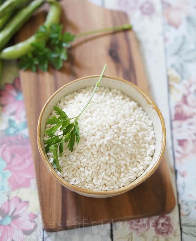 Arborio Rice for Risotto | FiestaFriday.net