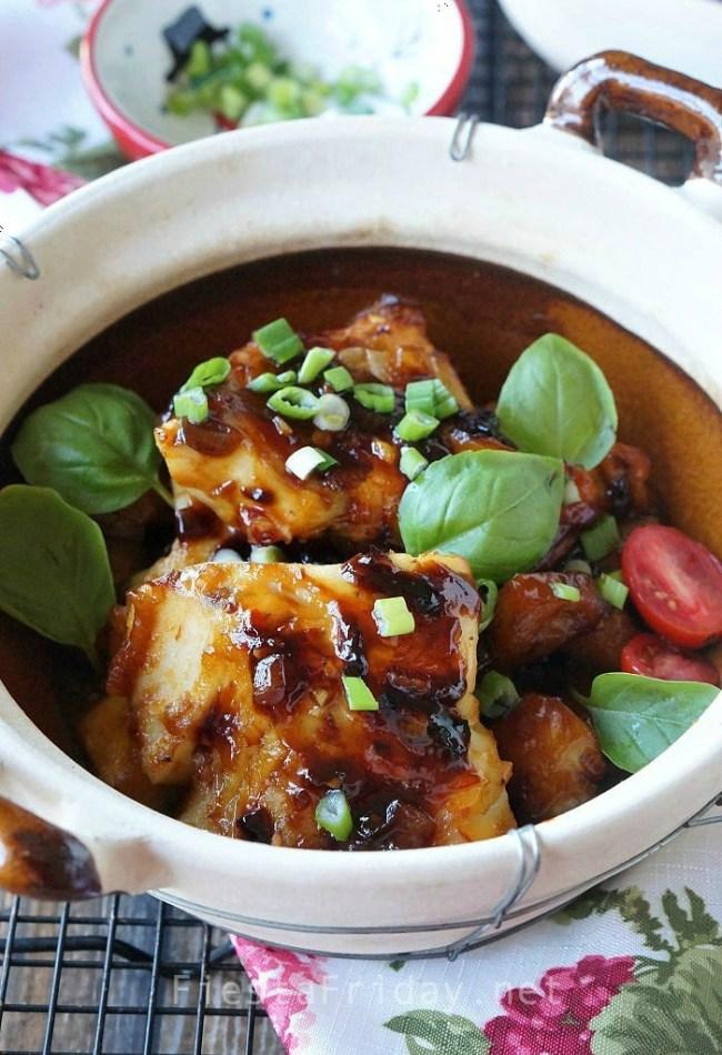 Cod in Vietnamese Caramel Sauce