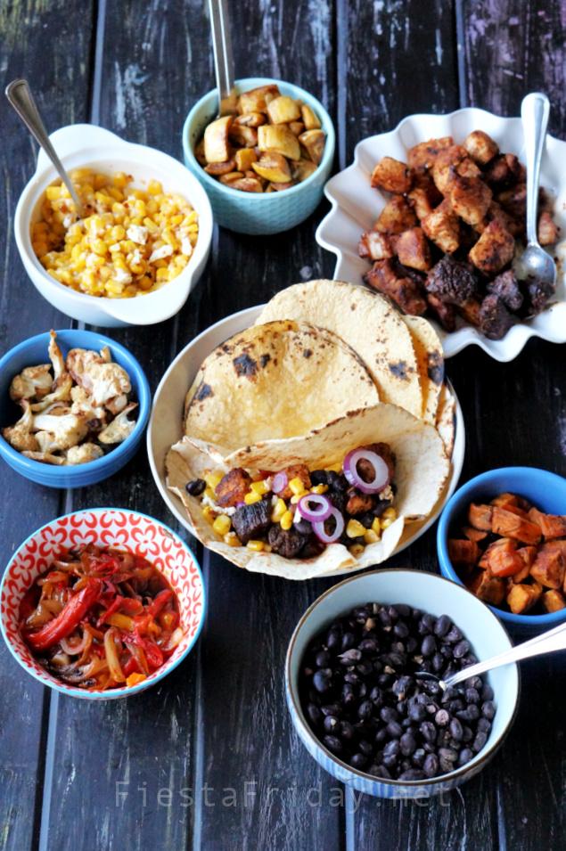 Taco Filling Ideas | FiestaFriday.net