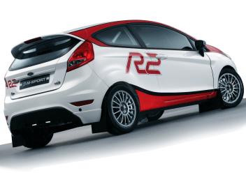 Ford Fiesta R2 Rally Otomobili