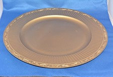 Gold Scroll Charger Plate