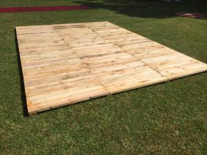 Recycled Timber Dance Floor (includes Installation)