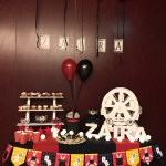 Mesa dulce o candy bar Magia