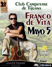 Franco de Vita en Tijuana 2012