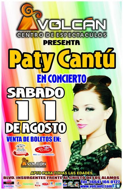 Paty Cantu en Tijuana 2012