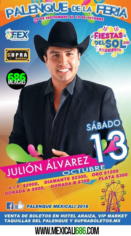 julion alvarez mexicali 2018