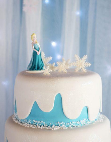 Cumpleaos De Frozen Con Elsa Y Anna Fiestas Y Cumples