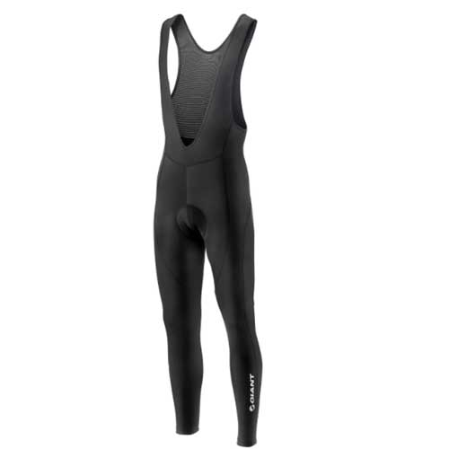 Giant Podium Thermal bib tight zwart