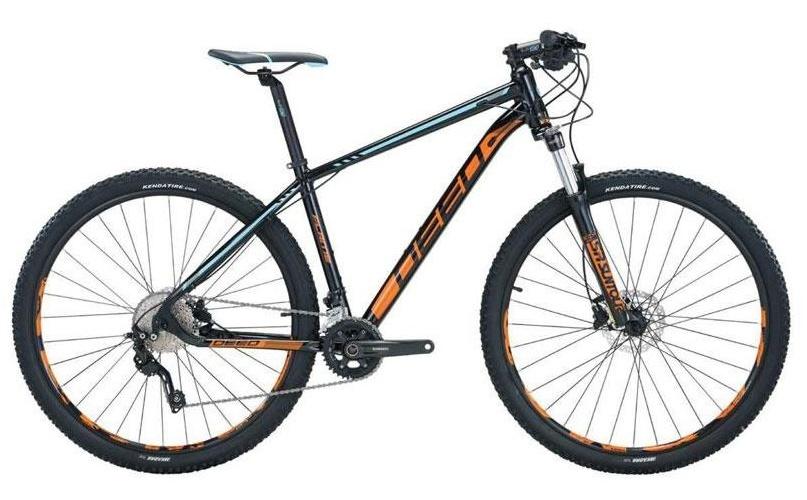 Deed Flame 292 29 Inch 40 cm Heren 10V Hydraulische schijfrem Zwart/Oranje