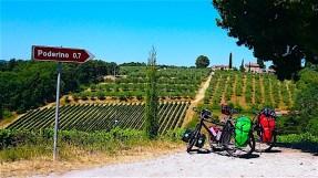 Italie Siena to Firenze (2) Fietsdewereldrond.nl