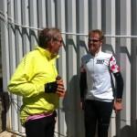 5juli2011 Ontmoeting met gast Marc op top Splugen pass