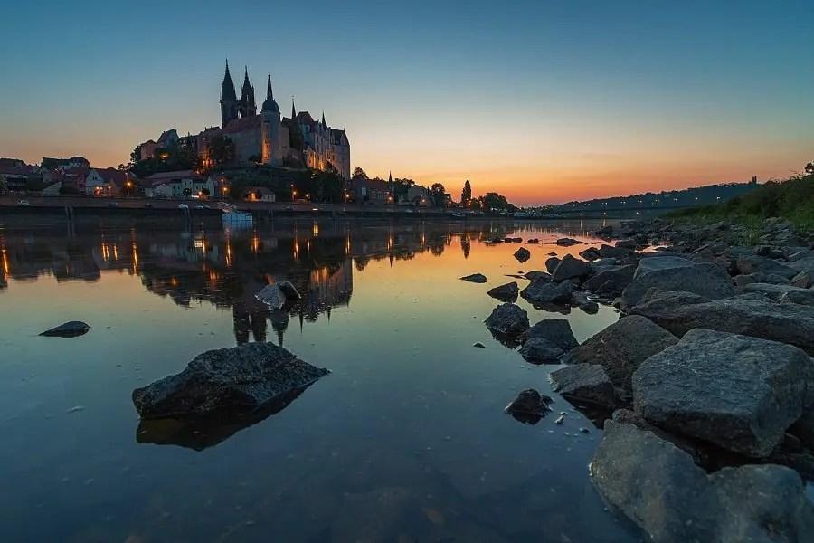 Castillo río Elba