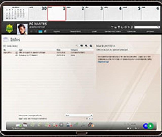 Decouvrez En Video Linterface Graphique Des Lfp Manager   Et 18 En Direct Du Forum Fifa Club Manager