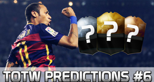 About FUT TOTW 6 Predictions