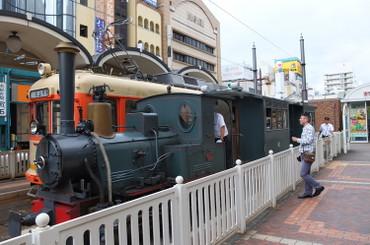 愛媛県・松山で路面電車に乗る。: 日光「ふぃふぁ山荘」元単身赴任日記