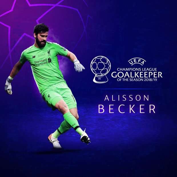 Alisson Van Dijk Wins UEFA Men 8217 S Player Of The Year