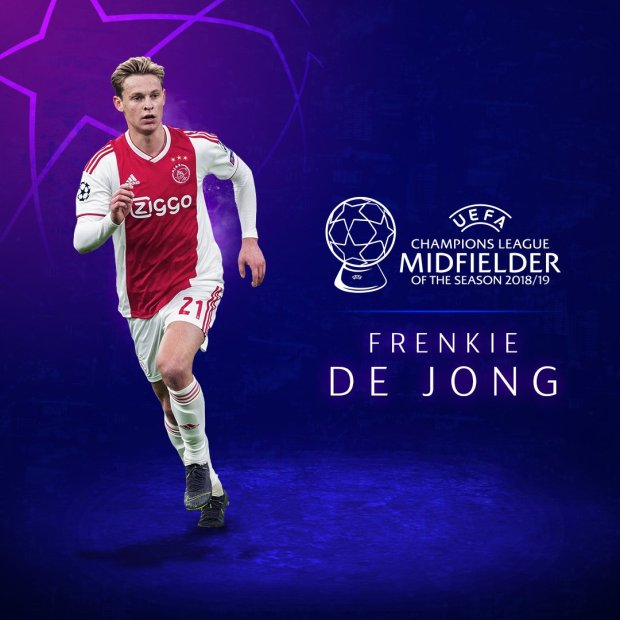 De Jong Van Dijk Wins UEFA Men 8217 S Player Of The Year