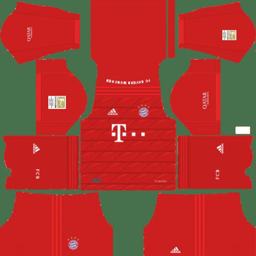 Bayern Munich Kits – Home Kit