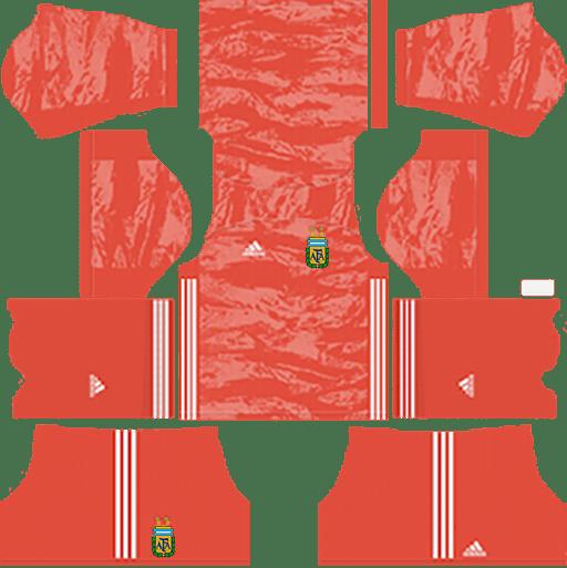 Argentina Goalkeeper Away Kit
