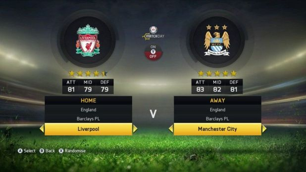 LIVERPOOL FC & MANCHESTER CITY