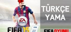 FIFA 15 Türkçe yama
