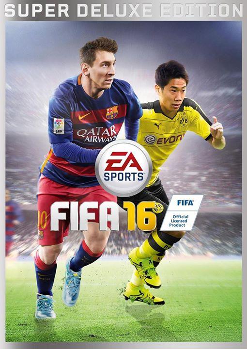 FIFA 16 Japonya Kapak Fotoğrafı Shinji Kagawa