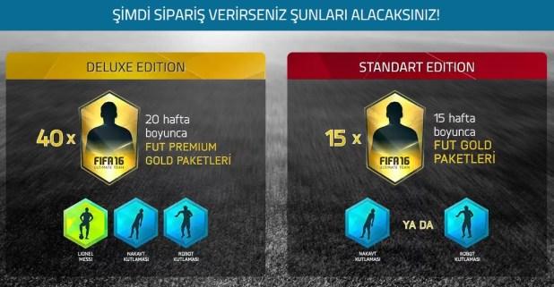 FIFA 2016 Ön Sipariş
