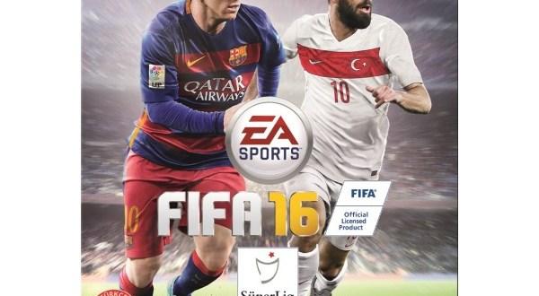 FIFA 2016 PC Türkiye Kapağı Arda Turan