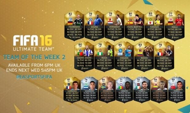 fifa16 haftanın takımı 2