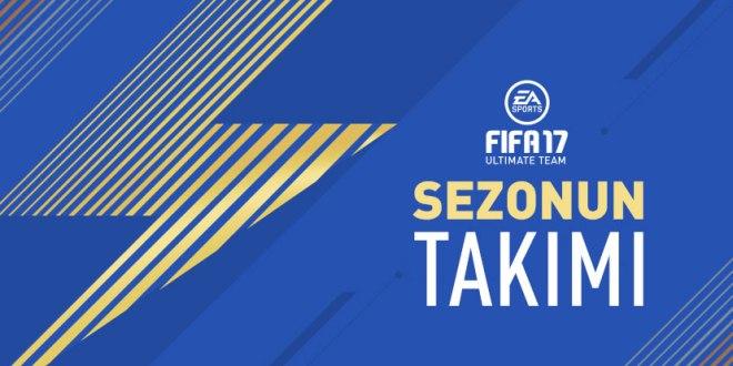 FIFA17 TOTS Sezonun Takımı