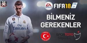 FIFA18 bilmeniz gerekenler