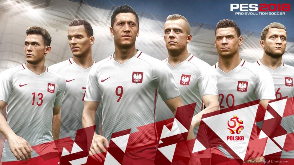 pes2018 Polonya