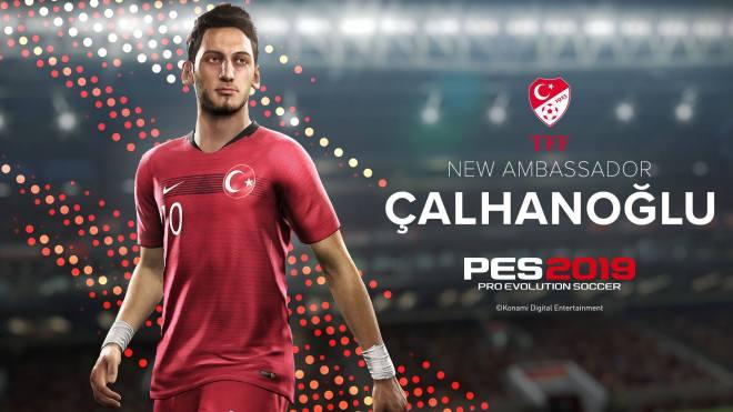 Hakan Çalhanoğlu PES 2019 Türkiye Elçisi
