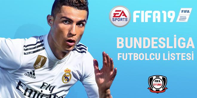 FIFA 19 - Almanya Bundesliga En İyi Futbolcular