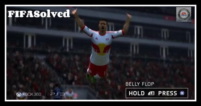 Clint Dempsey Belly Flop Celebration