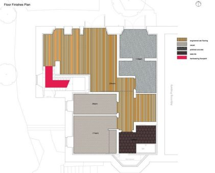Stewarton Drive, Cambuslang - Proposed Floor Finishes - Fife Architects