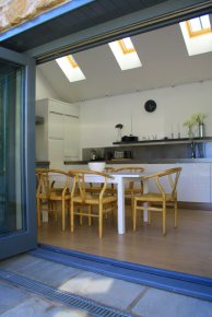 Kitchen conversion Fife Architects